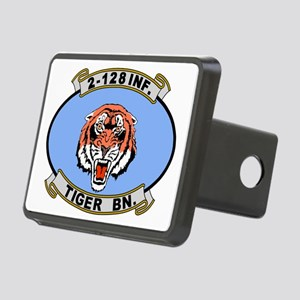 ARNG-128th-Infantry-2nd-Bn Rectangular Hitch Cover