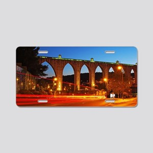 Aqueduct of the Free Waters Aluminum License Plate