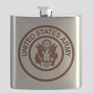 Army-Logo-2-Desert Flask