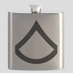 Army-PFC-Khaki-Cap Flask