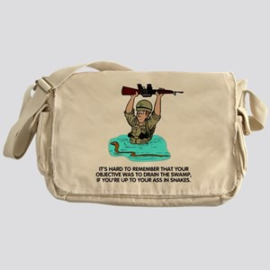 Misc-Up-To-Your-Ass-In-Snakes Messenger Bag