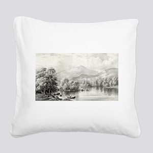 Indian summer - 1868 Square Canvas Pillow