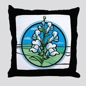 Misc-Snapdragon-Shirt-3-Back Throw Pillow