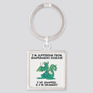 Misc-Snapdragon-Shirt-3 Square Keychain