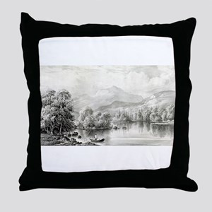 Indian summer - 1868 Throw Pillow