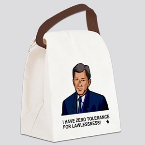 Bush-Zero-Tolerance Canvas Lunch Bag