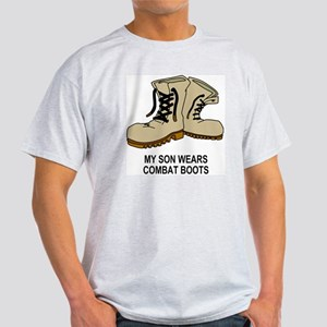 Combat-Boots-My-Son-2 Light T-Shirt