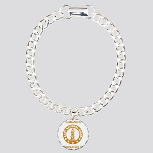 ARNG-My-Husband-Gold.gif Charm Bracelet, One Charm