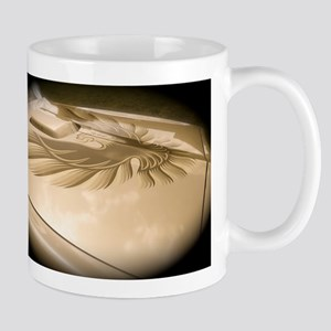 Gold Trans AM Bird Mug