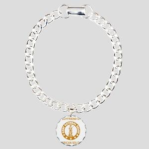 ARNG-My-Boyfriend-Gold.g Charm Bracelet, One Charm