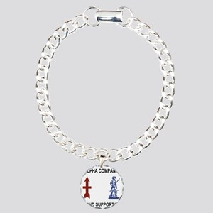 ARNG-132nd-Support-Bn-A- Charm Bracelet, One Charm
