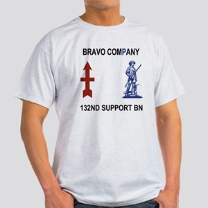 ARNG-132nd-Support-Bn-B-Co-Shirt-4Cr Light T-Shirt