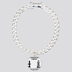 ARNG-132nd-Support-Bn-HH Charm Bracelet, One Charm