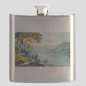 Lake George N.Y. - 1907 Flask