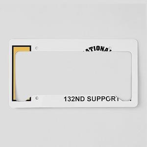 ARNG-132nd-Support-Bn-2Lt-Mug License Plate Holder