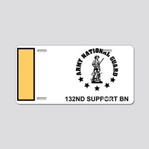 ARNG-132nd-Support-Bn-2Lt-M Aluminum License Plate