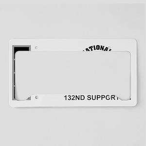 ARNG-132nd-Support-Bn-CW4-Mug License Plate Holder