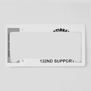 ARNG-132nd-Support-Bn-CW3-Mug License Plate Holder