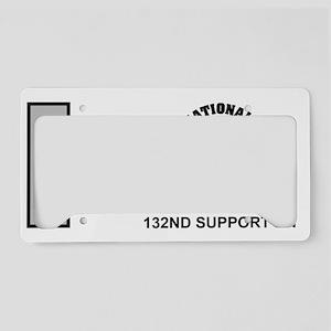 ARNG-132nd-Support-Bn-1Lt-Mug License Plate Holder