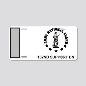 ARNG-132nd-Support-Bn-1Lt-M Aluminum License Plate