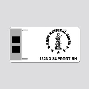 ARNG-132nd-Support-Bn-CW2-M Aluminum License Plate