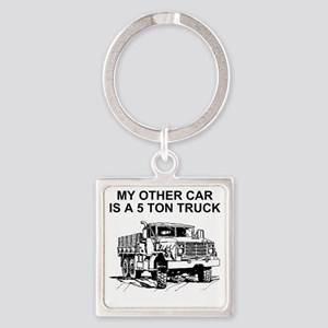 Army-Other-Car-Is-Truck Square Keychain