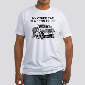 Army-Other-Car-Is-Truck Fitted T-Shirt
