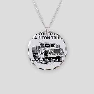 Army-Other-Car-Is-Truck.gif Necklace Circle Charm