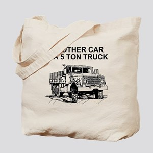 Army-Other-Car-Is-Truck Tote Bag