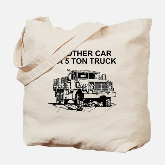 Army-Other-Car-Is-Truck.gif Tote Bag
