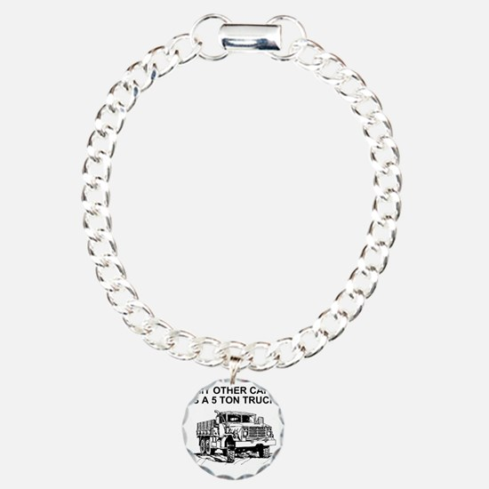 Army-Other-Car-Is-Truck. Charm Bracelet, One Charm