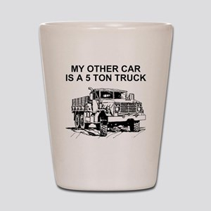 Army-Other-Car-Is-Truck Shot Glass