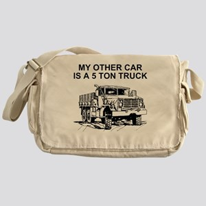 Army-Other-Car-Is-Truck Messenger Bag
