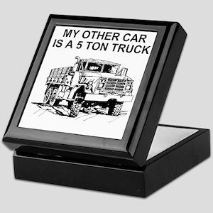 Army-Other-Car-Is-Truck Keepsake Box