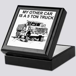 Army-Other-Car-Is-Truck.gif Keepsake Box