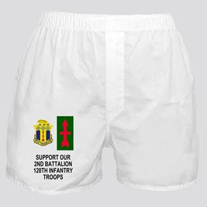 ARNG-128th-Infantry2nd-Bn-Support-Pos Boxer Shorts