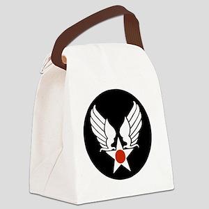 AAC-Veteran-Yellow Canvas Lunch Bag