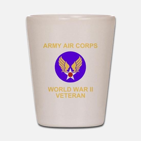 AAC-Veteran-Black Shot Glass