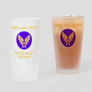 AAC-Veteran-Black Drinking Glass