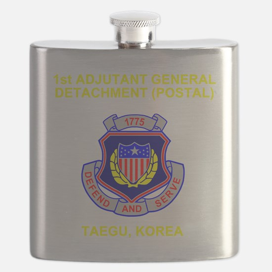 Army-1st-AG-Det Flask