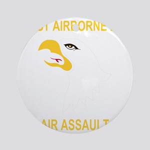 Army-101st-Airborne-Div Round Ornament