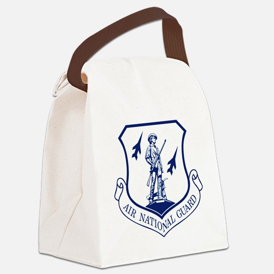 ANG-Seal-Blue-White.gif Canvas Lunch Bag