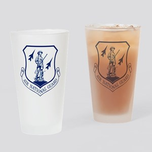 ANG-Seal-Blue-White Drinking Glass