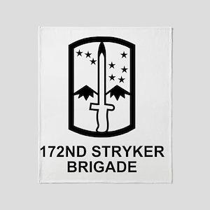 Army-172nd-Stryker-Bde-Messenger-4.g Throw Blanket