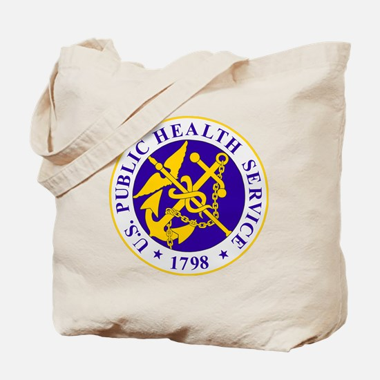 USPHS-Black-Shirt Tote Bag