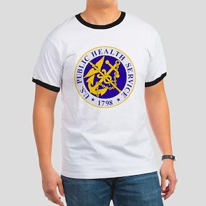 USPHS-Black-Shirt Ringer T