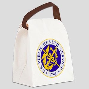 USPHS-Black-Shirt Canvas Lunch Bag