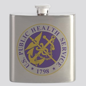 USPHS-Black-Shirt Flask