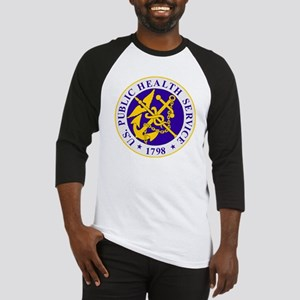 USPHS-Black-Shirt Baseball Jersey