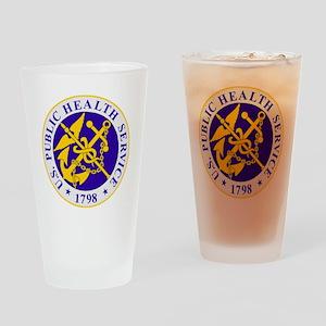 USPHS-Black-Shirt Drinking Glass